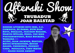 Trubadur Joar Balstad til fest allsang og dans